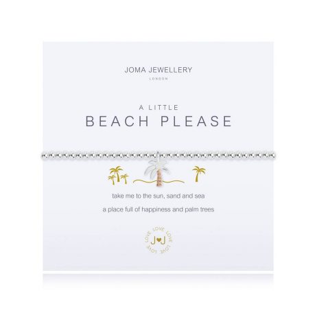 Joma Jewellery A Little Beach Please Silver Bracelet 2533