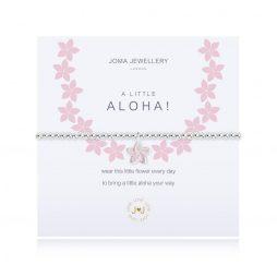 Joma Jewellery A Little Aloha Silver Bracelet 2536