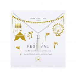 Joma Jewellery A Little Festival Silver Tassel Bracelet 2620