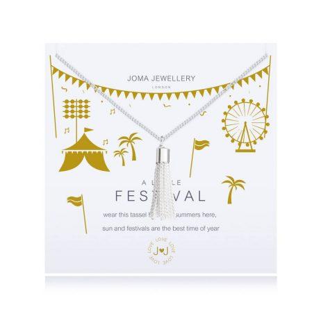 Joma Jewellery A Little Festival Silver Bracelet 2620