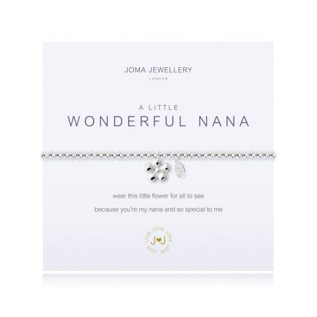 Joma Jewellery A Little Wonderful Nana Silver Bracelet 2639