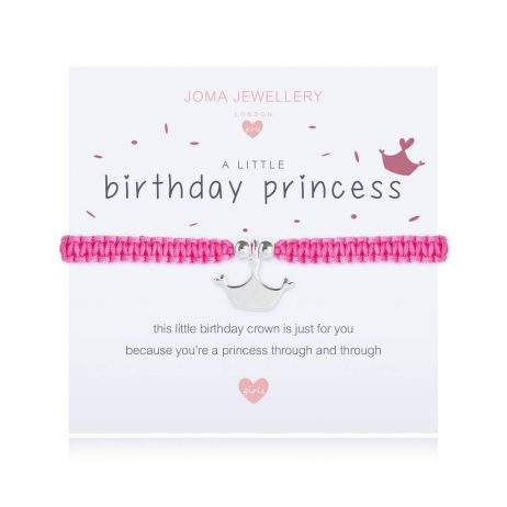 Joma Jewellery Children's A Little Birthday Princess Bracelet C411