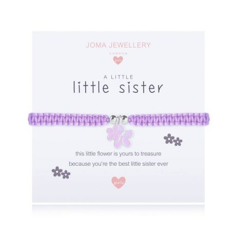 Joma Jewellery Children's A Little Little Sister Bracelet C412