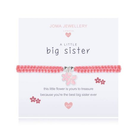 Joma Jewellery Children's A Little Big Sister Bracelet C413 - EOL