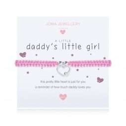 Joma Jewellery Children's A Little Daddy's Little Girl Silver Bracelet C414