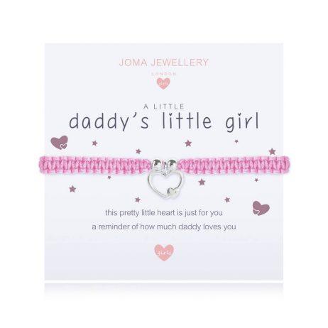 Joma Jewellery Children's A Little Daddy's Little Girl Bracelet C414