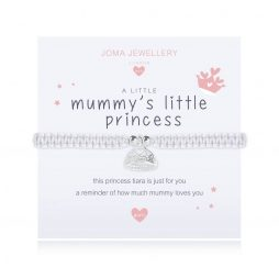 Joma Jewellery Children's A Little Mummy's Little Princess Silver Bracelet C415
