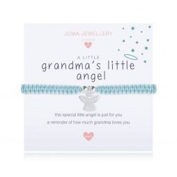 Joma Jewellery Childrens A Little Grandma's Little Angel Silver Bracelet C416