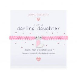 Joma Jewellery Childrens A Little Darling Daughter Silver Bracelet C418