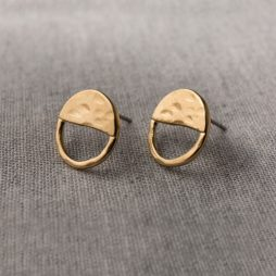 Danon Jewellery Inner Circle Gold Stud Earrings