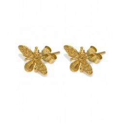 Hultquist Jewellery Bee Earrings 18K Gold Plated S03008G