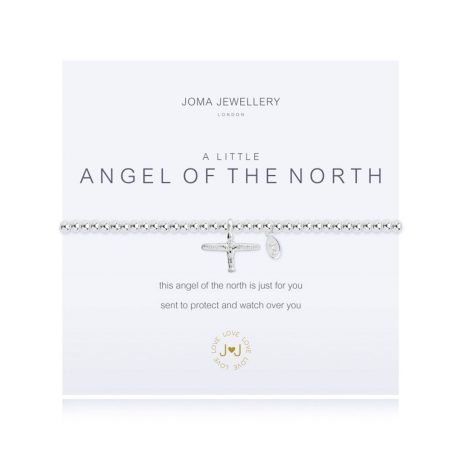 Joma Jewellery A Little Angel Of The North Silver Bracelet 1501