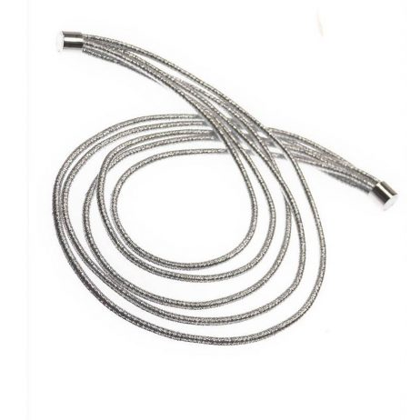 Hot Tomato Jewellery Cable Silver Necklace