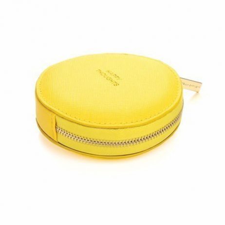 Estella Bartlett Yellow Circle Coin Purse Happy Thoughts