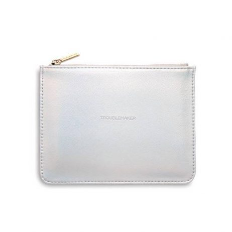 Estella Bartlett Iridescent Small Pouch Troublemaker