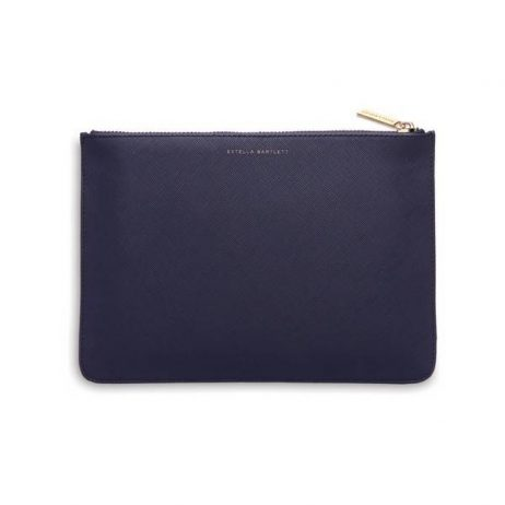 Estella Bartlett Navy Medium Pouch Live As You Dream