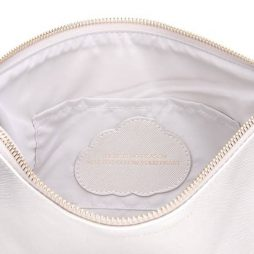 Estella Bartlett Silver Large Pouch There Is No Reason Not To Follow Your Heart EBP2373