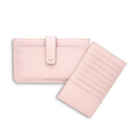 Estella Bartlett Travel Document Wallet Blush Pink Skies Ahead - EOL