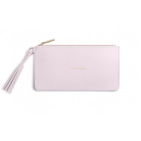 Katie Loxton Florrie Tassel Pouch Pretty Perfect Powder Pink