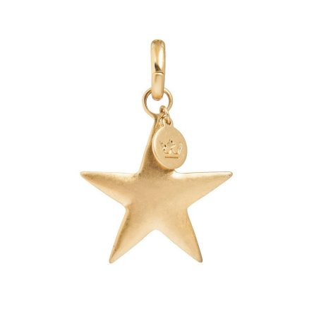 Sence Copenhagen Worn Gold Large Star Charm