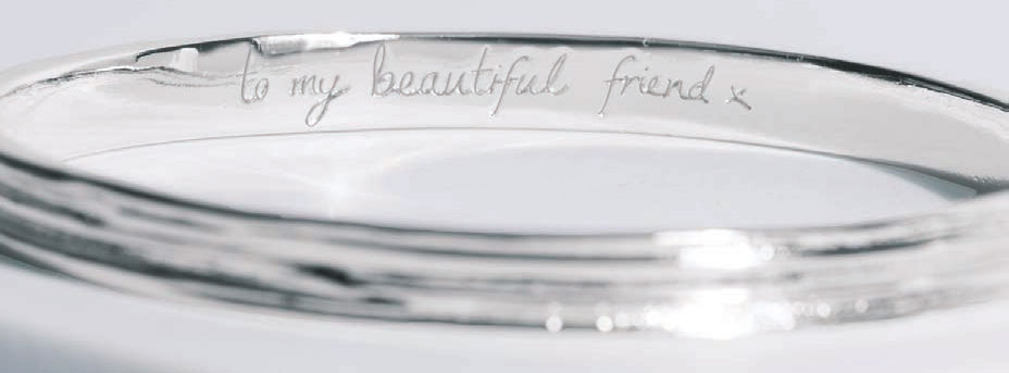 Joma Jewellery Secret Message Bangle
