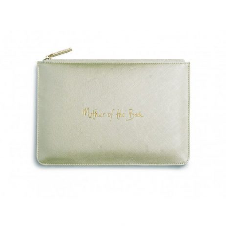 Katie Loxton Perfect Pouch Mother Of The Bride Metallic Gold