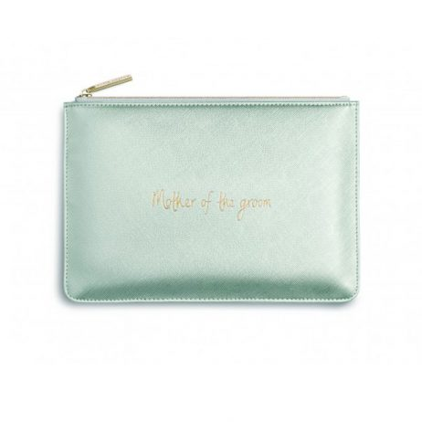 Katie Loxton Perfect Pouch Mother Of The Groom Metallic Silver