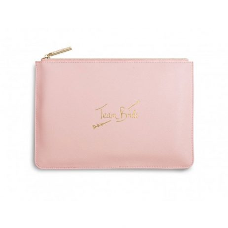 Katie Loxton Perfect Pouch Team Bride Pink