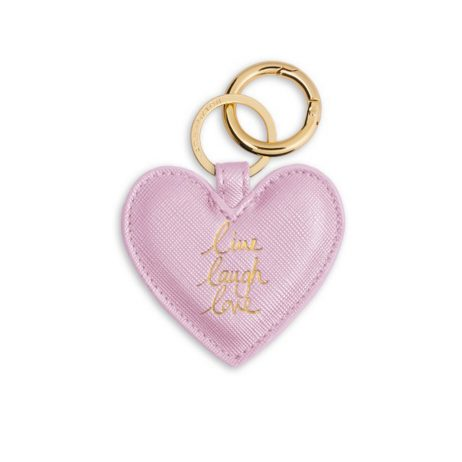 Katie Loxton Heart Key Ring Live Love Laugh