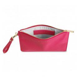 Katie Loxton Secret Message Pouch Pop Fizz Clink Pink