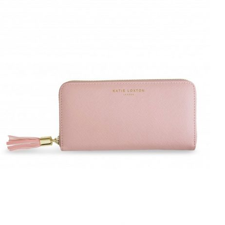 Katie Loxton Large Tassel Purse Pink