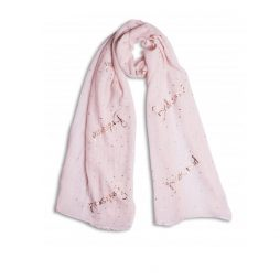 Katie Loxton Bridesmaid Scarf Blush Pink