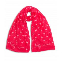 Katie Loxton Pretty In Pink Flamingo Scarf