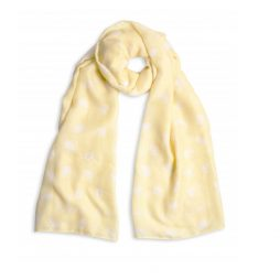 Katie Loxton When Life Gives You Lemons Scarf Yellow KLS081
