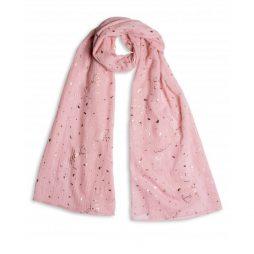 Katie Loxton Shine Bright Scarf Pale Pink KLS084