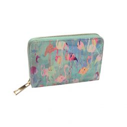 Hot Tomato Flamingos Small Purse