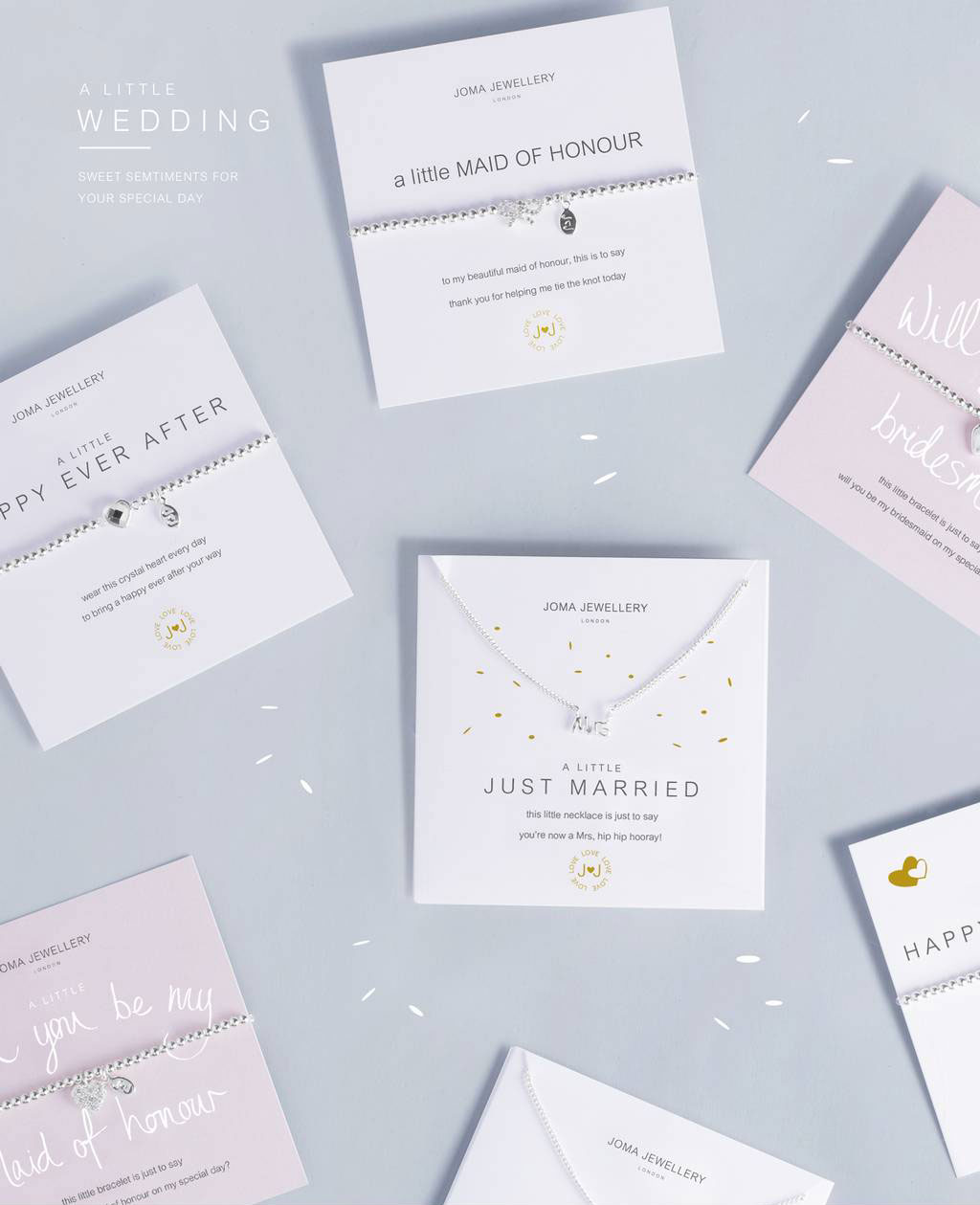 Joma Jewellery A little Wedding Collection