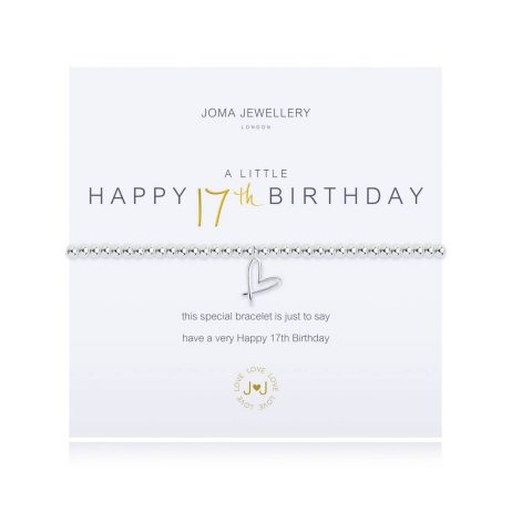 Joma Jewellery A Little Happy 17th Birthday Bracelet 2669 EOL