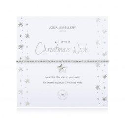 Joma Jewellery a little Christmas Wish Bracelet 2704
