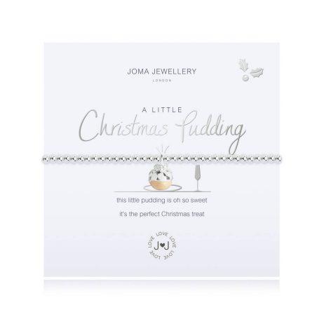 Joma Jewellery A Little Christmas Pudding Bracelet 2706