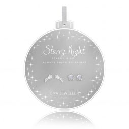 Joma Jewellery Starry Night Set Of Two Baubles Earrings 2741