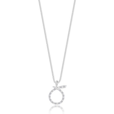 Joma Jewellery Family Sentiment Set Loop Pave Earring And Necklace 2755