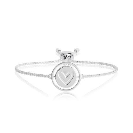 Joma Jewellery Spinning Message Love Bracelet 2757