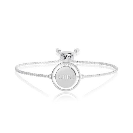 Joma Jewellery Spinning Message Shine Bracelet 2758