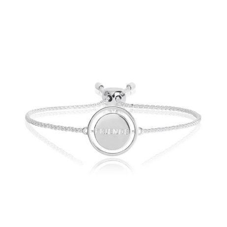 Joma Jewellery Spinning Message Friends Bracelet 2759