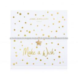 Joma Jewellery Make a Wish Gold Star Pendant Bracelet 2782