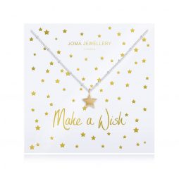 Joma Jewellery Make a Wish Star Pendant Necklace 2783