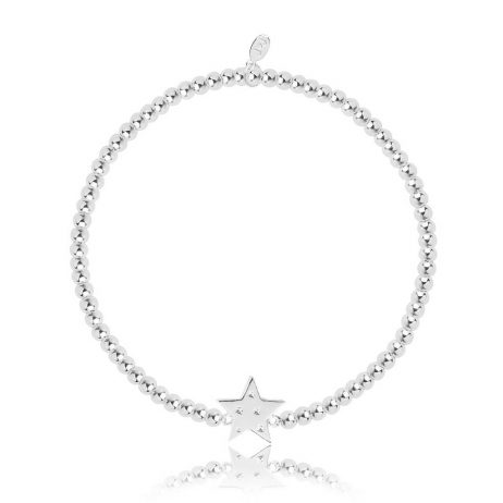 Joma Jewellery Christmas Cracker Sparkle Shimmer Shine Star Bracelet 2794