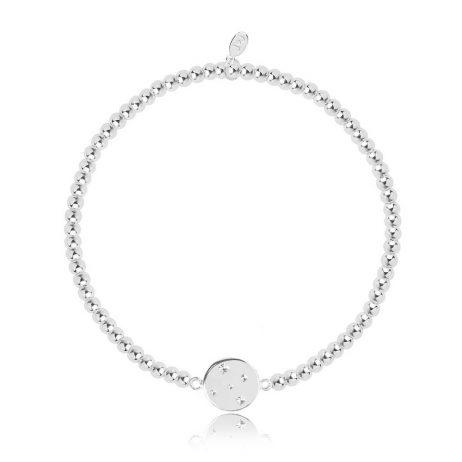 Joma Jewellery Christmas Cracker Sparkle Shimmer Shine Disc Bracelet 2796