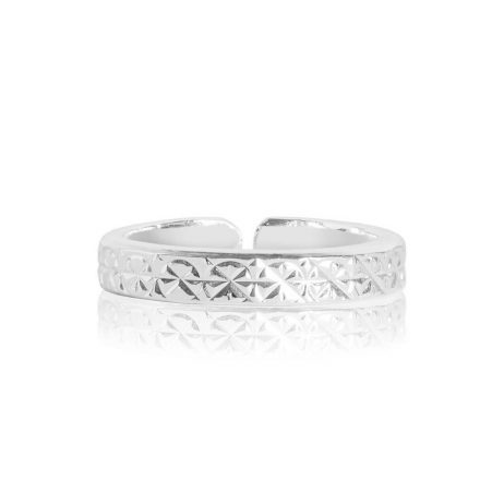 Joma Jewellery Sara Silver Dazzle Cut Ring 2807